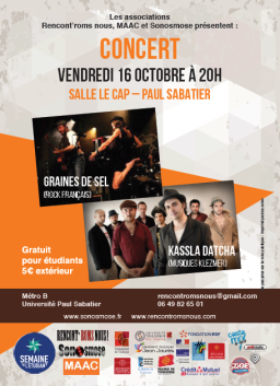 Fly concert 16 octobre